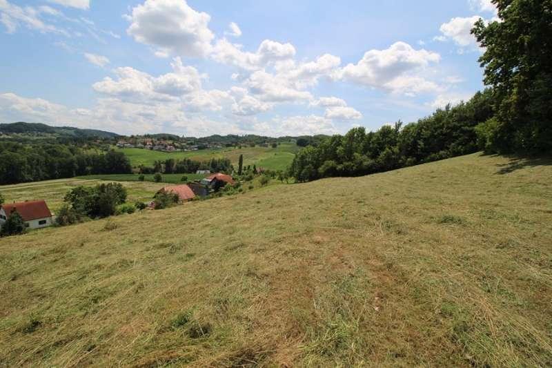 Landwirtschaftliche Nutzfläche in Südhanglage mit kleinem Waldstück zu verkaufen