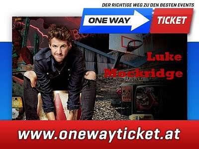 Luke Mockridge live in der Stadthalle Wien 03.05.2020 Osttribüne Unterrang Top Sitzplätze im Orchester direkt vor der Bühne