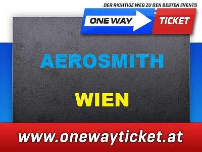 Aerosmith live in Wien 09.07.2020 Stehplätze ParterreTOP-Sitzplätze Unterrang Onewayticket 1. REIHE