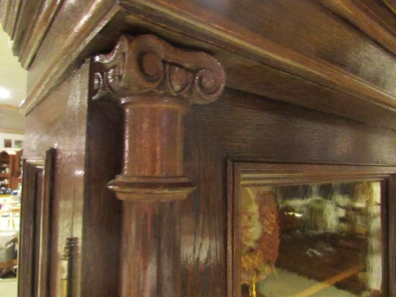Historismus Vitrinenschrank - Originalverglasung