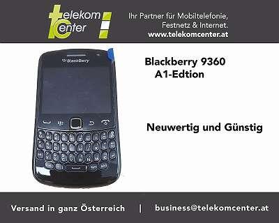 Blackberry 9360 Curve A1 Edition neuwertig
