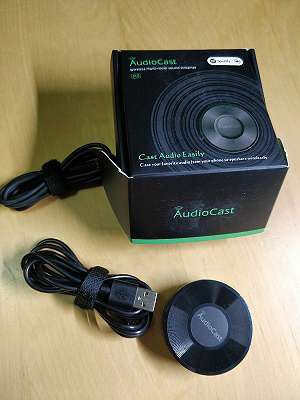 AudioCast, wie Google Chromecast Audio