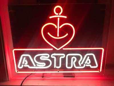 Astra leicht Reklame Original