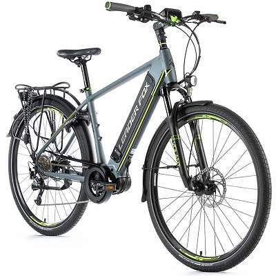>>>NEU Trekking E-bike Leader Fox DENVER gent, 2020 GREY MATT/ GREEN, Super Fahrrad, 2 Jahre Garantie! Ratenzahlung ist Möglich, statt: 2390, - nur : 1899, -