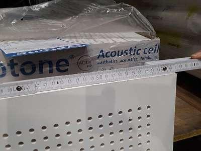 Akustikplatte für Innenraumdecken