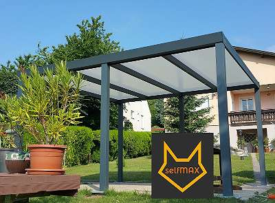 selfMAX Terrassendach - Bauhaus OBI Hornbach Carport - Vordach - Überdachung Sunlive Trinity Wintergarten ALCO Solarlux Fensterwerk Kuzdas Probst Seyfried