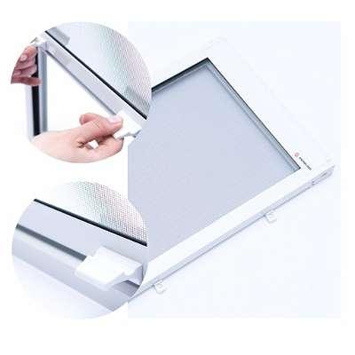 NEU Premium Fliegengitter Fliegenschutz Insektenschutzrollos mit ALU-Profil für Dachfensterrollo Velux Fakro Roto