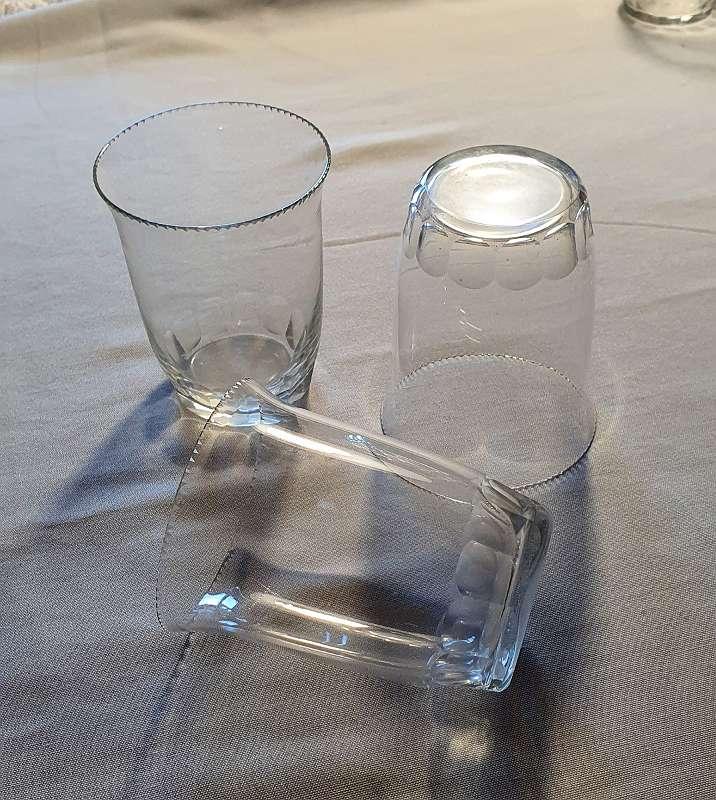 Wasserglas Jugendstil Art deco Gläsergearnitur 24 teilig geschliffen MOSER Karlsbad ?