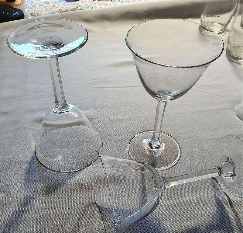 Aperitivglas Jugendstil Art deco Gläsergearnitur 24 teilig geschliffen MOSER Karlsbad ?
