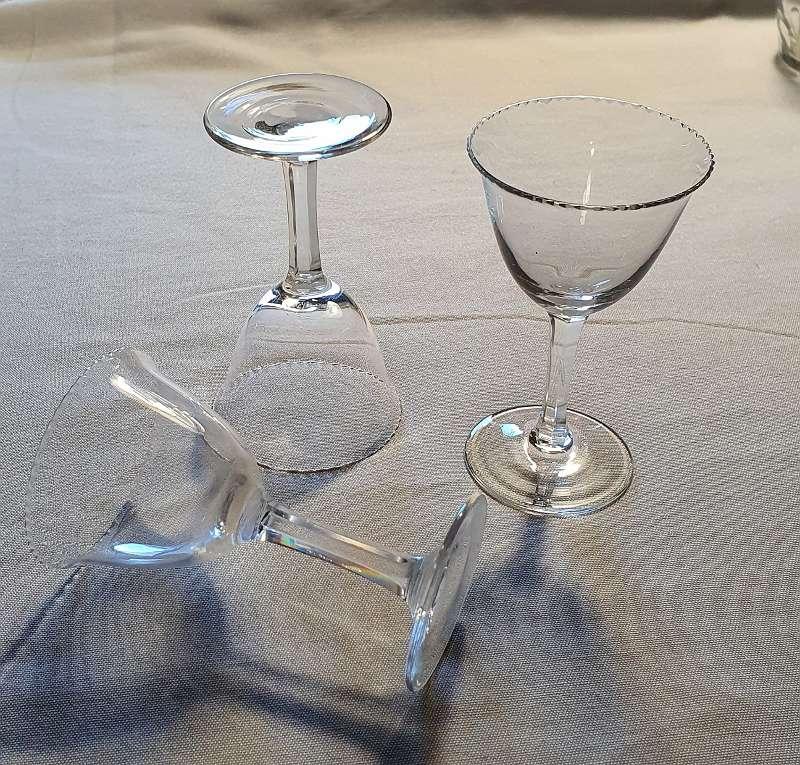 Schnapsglas Jugendstil Art deco Gläsergearnitur 24 teilig geschliffen MOSER Karlsbad ?