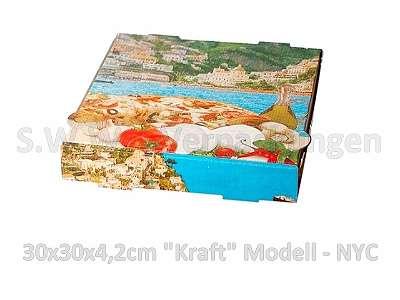 Pizzakarton 30x30x4,2cm