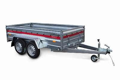 Pkw Anhänger, Tieflader Prakti 2612/2 750 kg