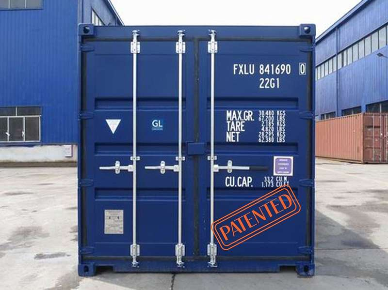 Seecontainer neu mit Spezialverriegelung zum Toppreis!