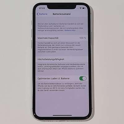 iPhone 11 Pro 256GB Silver neuwertig mit Garantie - kostenloser Versand