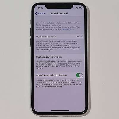 iPhone 11 Pro 256GB Silver neuwertig mit Garantie - kostenloser Versand!