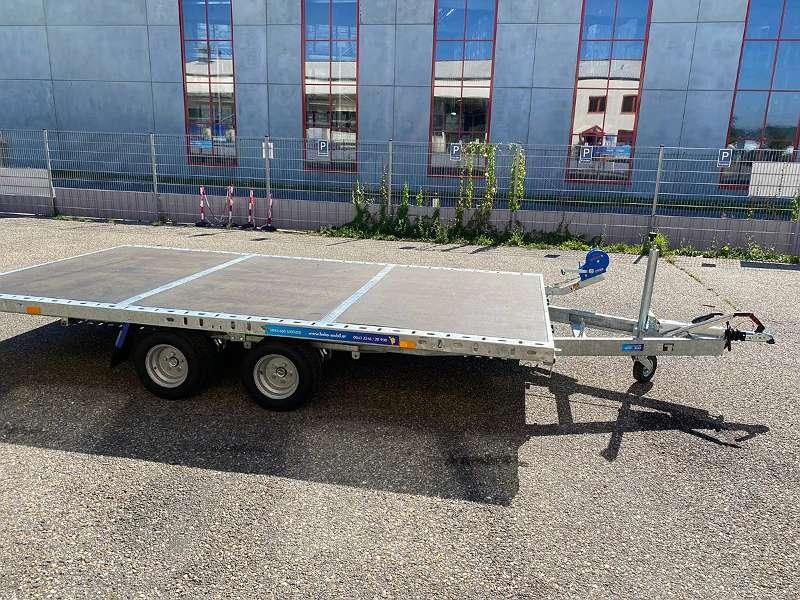 NEU! Autotransporter kippbar, Holz-Plateau 4x2 m, 2,7 T GG, ¤ 2990, -