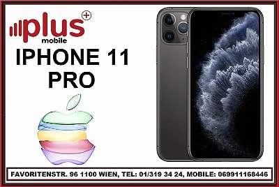 IPHONE 11 PRO 64GB SCHWARZ, OVP, NEU, A1-WOWW-YOOPI-BOB-HOT SIMLOCK , GARANTIE, PLUS MOBILE !