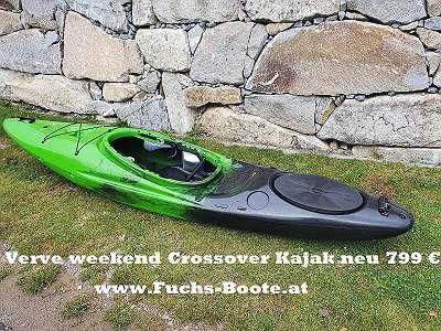 NEU - 310 cm Crossover Kajak Paddelboot Verve weekend
