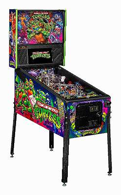 Teenage Mutant NINJA TURTLES LE und Pro STERN Pinball Flipper
