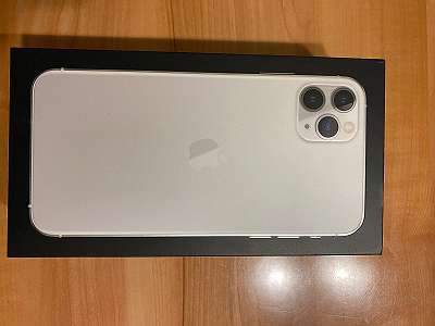 iPhone 11 Pro Max in Silber
