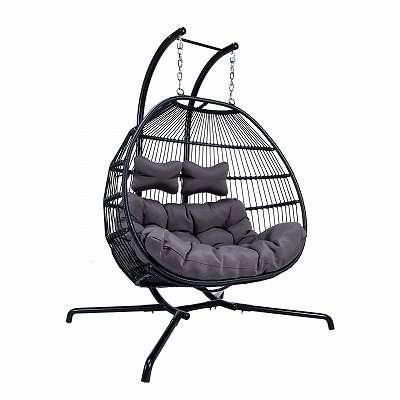 Luxus Hängesessel / Swing Chair (Gartenmöbel, Rattangarnitur, )