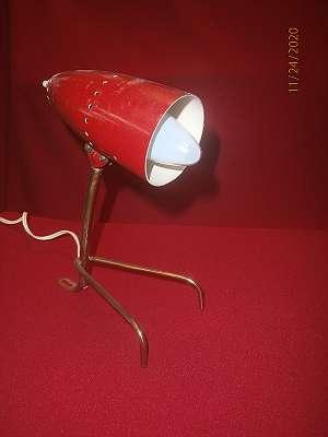 Kalmar Tischlampe um 1960