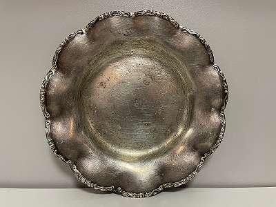 Silber Teller