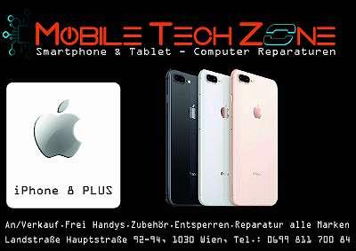 APPLE IPHONE 8 PLUS 256GB GOLD, GUTER ZUSTAND, WERKSOFFEN, OFFEN FÜR ALLE NETZE MIT ZUBEHÖR UND GARANTIE !