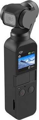 DJI Osmo Pocket 3-Achsen Gimbal Stabilisator Stabilizer mit Display und integrierter 12MP Kamera zur Aufnahme auf microSD Karte Auflösung 4k@60Hz 1080p@60Hz (CP-ZM-00000097-03)