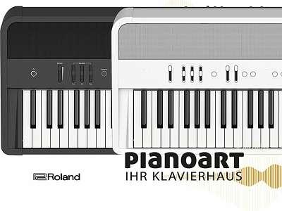 ROLAND PORTABLE DIGITAL PIANO FP 90X ++ Neues Modell ++ Auf Wunsch mit 0% Finanzierung