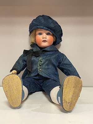 Armand Marseille * Porzellankopf - Knaben Puppe