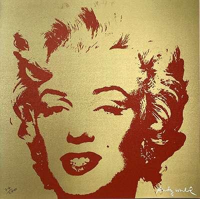 Andy Warhol - Marilyn Monroe 60x60 - Echtheitszertifikat