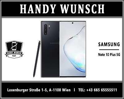 Samsung NOTE 10 Plus 5G / ORIGINAL VERPACKT / HANDYWUNSCH