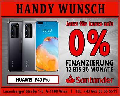 0% Finanzierung! HUAWEI P40 PRO / ORIGINAL VERPACKT / HANDYWUNSCH