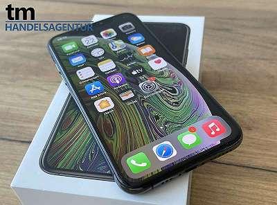 Apple iPhone XS 256GB Space Gray mit Schutzhülle | A1-Edition | *WIE NEU* | mit Rechnung und Gewährleistung