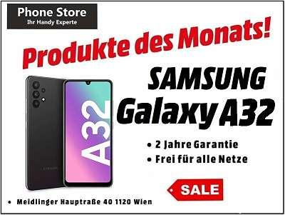 Samsung Galaxy A32 4G 128GB Awesome Black / Nagelneu, Org. Versiegelt/ Werksoffen, Frei Für Alle Simkarten/ Mit 24 Monate Hersteller Garantie