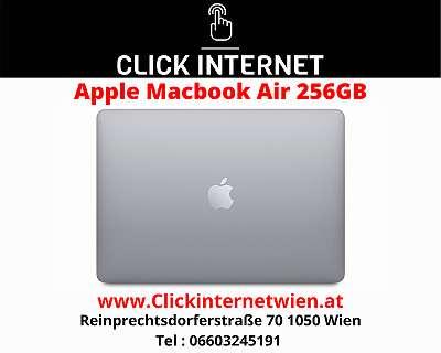 Apple MacBook Air with Apple M1 chip (13 inch, 8GB RAM) / Space Grey/ Mit Voller Hersteller Garantie Dabei