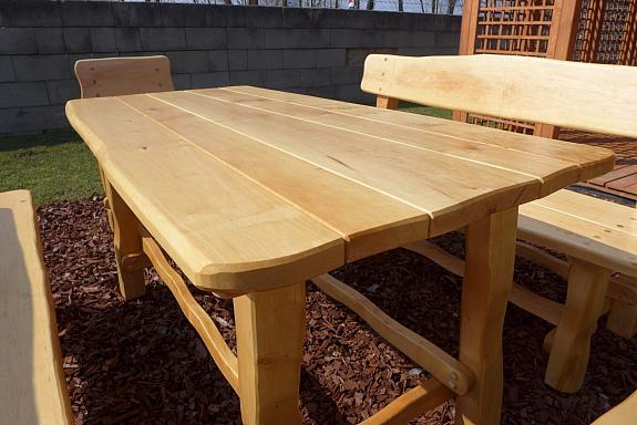 Gartenmobel Lounge Tisch :  natur hell lackiert, € 590, (2232 DeutschWagram)  willhaben