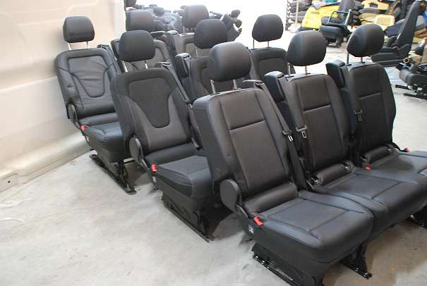 mercedes vito viano v klasse v class vklasse w 447 sitzbank 2 1 seat bench sitze sedile sedili. Black Bedroom Furniture Sets. Home Design Ideas