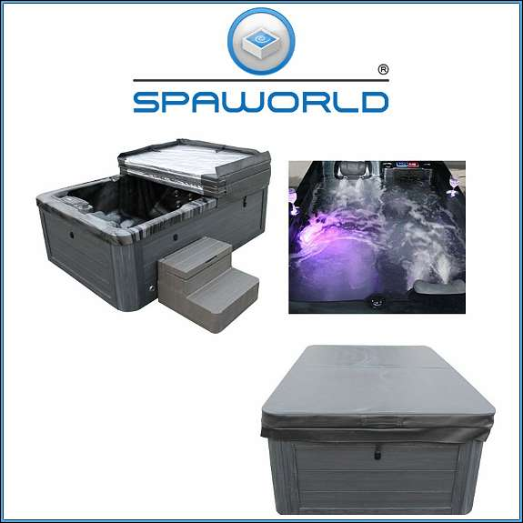 whirlpools spaworld 2 premium outdoor whirlpool. Black Bedroom Furniture Sets. Home Design Ideas