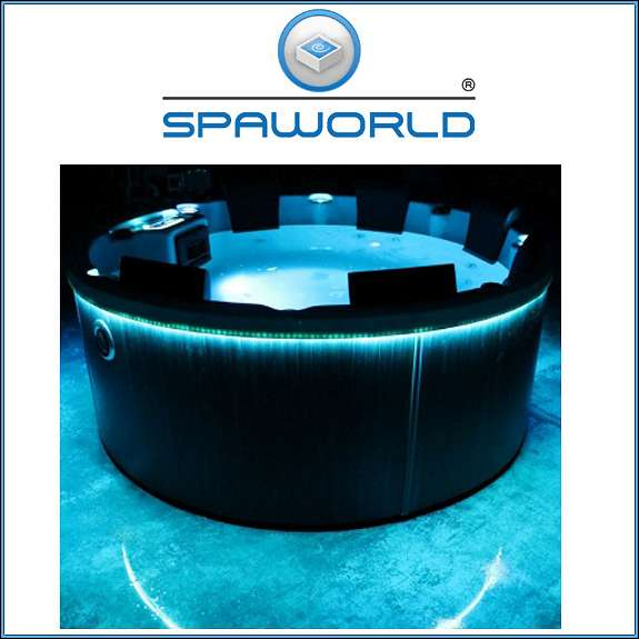 hottube spaworld 5 outdoor whirlpool rund 6 personen 198x79cm 1010 wien. Black Bedroom Furniture Sets. Home Design Ideas