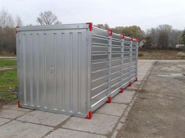 kovobel demontierbare container lagercontainer in mehreren gr en zu bestellen. Black Bedroom Furniture Sets. Home Design Ideas