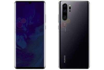 Huawei P30 Pro Black 128-GB WIE NEU WERKS OFEN FÜR ALLE NETZE OVP