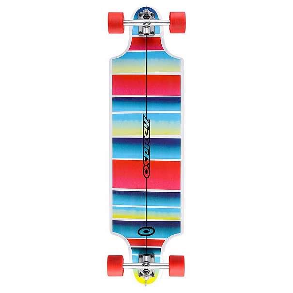 Longboard Skate Stripe Downhill Longboard - 38 inch Komplettboard inkl. ABEC 9 vom Händler + Rechnung - AKTION