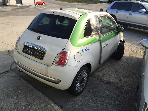 fiat 500 ersatzteile getriebe airbag t r heckklappe