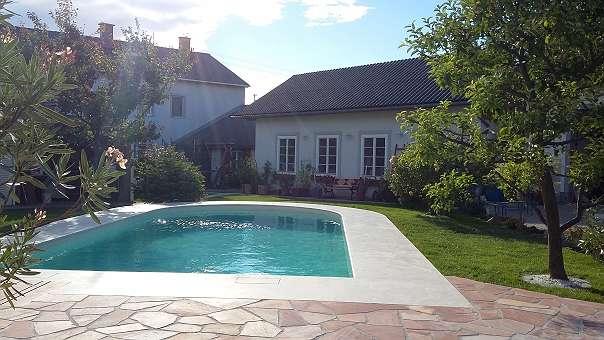 Poolumrandung aus naturstein 30 9400 ungarn willhaben - Naturstein pool ...