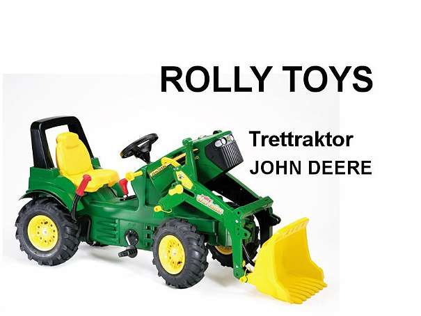 rolly toys trettraktor john deere 7930 lader luftreifen. Black Bedroom Furniture Sets. Home Design Ideas