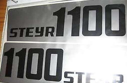 Steyr aufkleber logo cm lang ebay