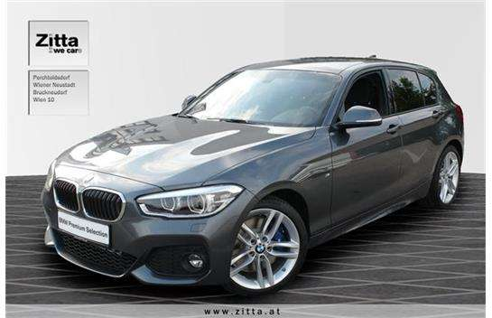 bmw 1er reihe 118d m sport limousine 2016 km. Black Bedroom Furniture Sets. Home Design Ideas