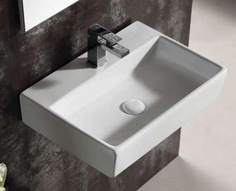 Keramik Waschbecken Waschtisch Handwaschbecken 45 80 1180